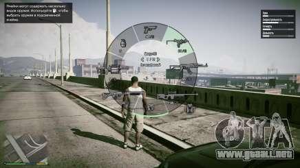 Completa interfaz de GTA 5