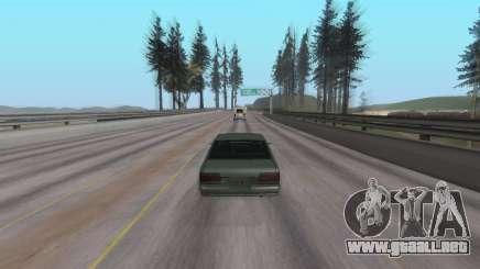 Escuchar música en un coche en GTA San Andreas