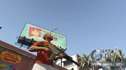 La descarga de armas en GTA 5