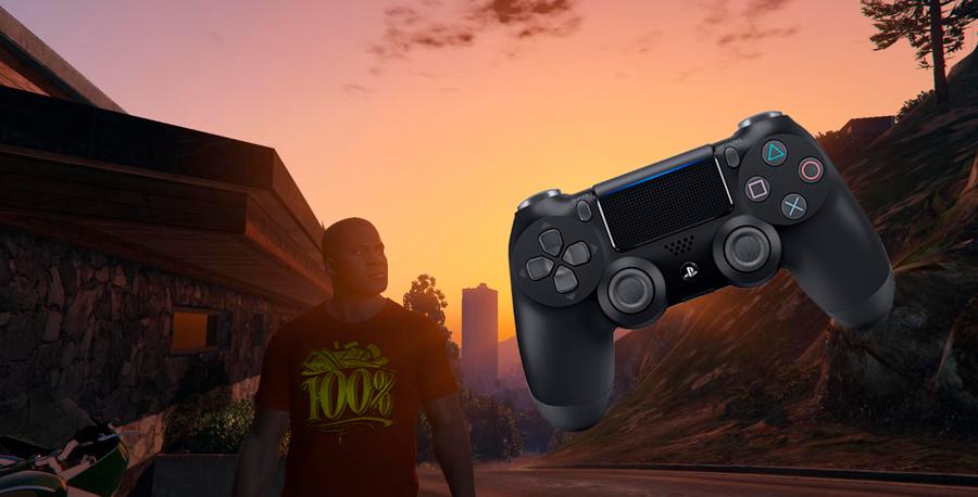 Para conectar un controlador de juego en GTA 5