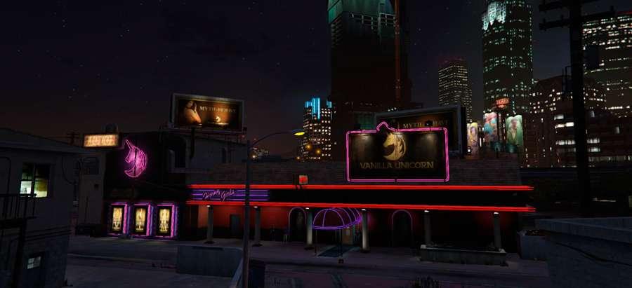 Cómo llegar a el club de striptease en el GTA 5