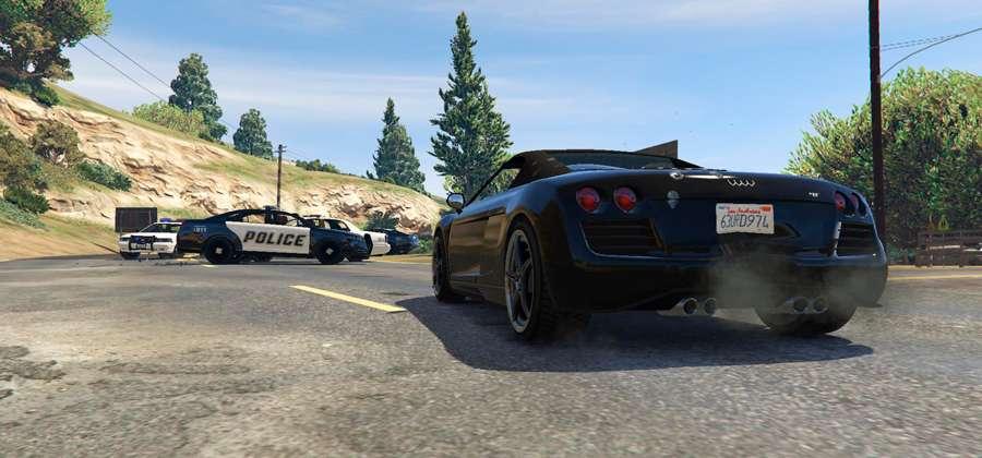 Cómo escapar de la policía en GTA 5