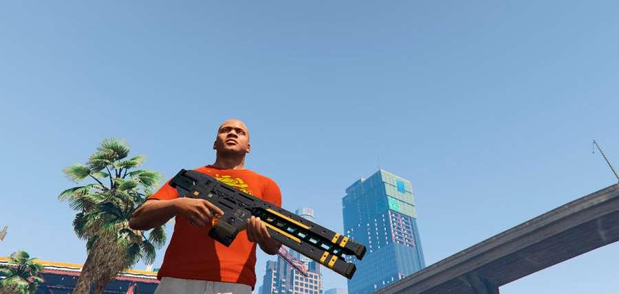 Cómo conseguir railgun en GTA 5