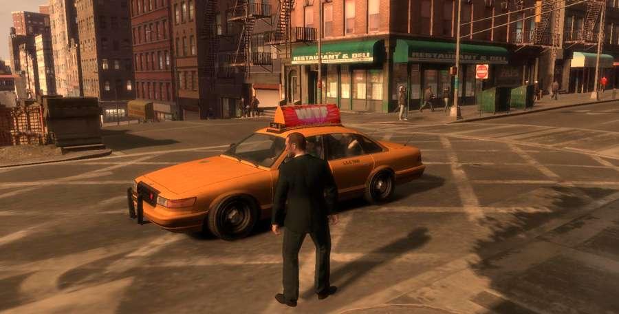 Así que llame a un taxi en el GTA 4