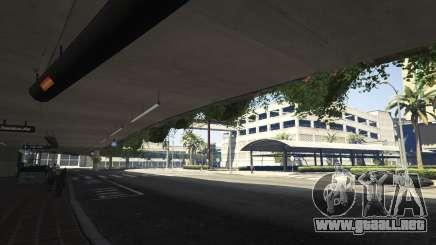 Llegada al aeropuerto de GTA 5