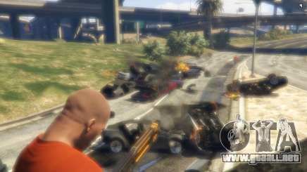 Destructivo railgun en GTA 5