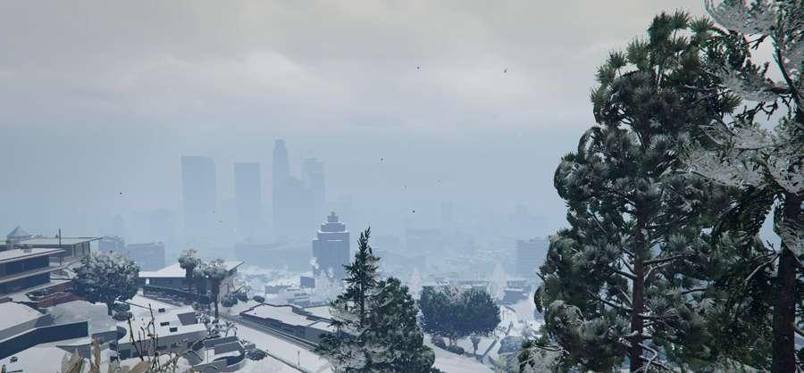 Nieve en GTA 5