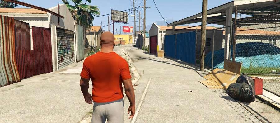 Así que contratan a una pandilla en GTA 5