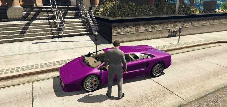 Para bloquear un coche en GTA 5