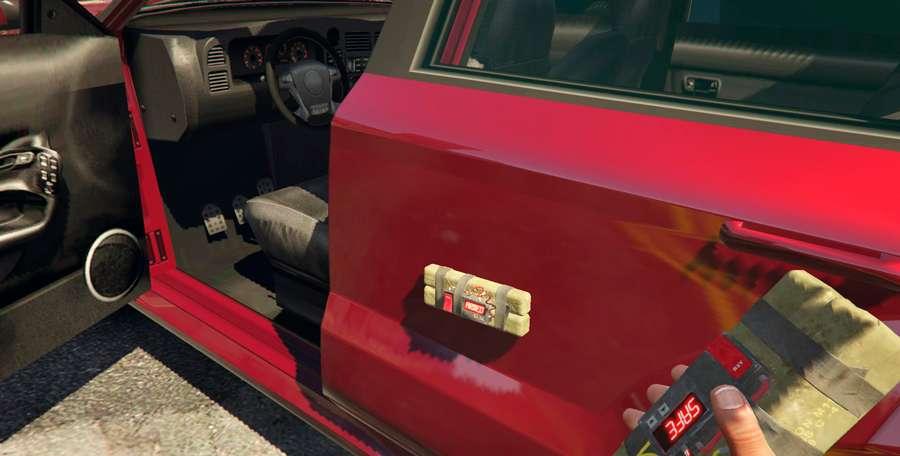 Cómo explotar un coche en GTA 5