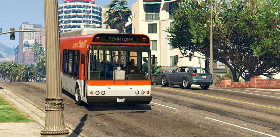 Cómo trabajar como conductor de autobús en GTA 5