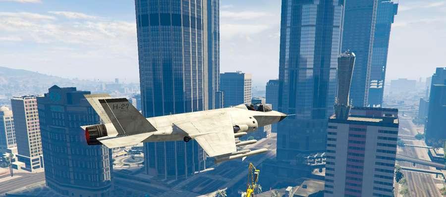 Cómo volar a la Hidra en el GTA 5