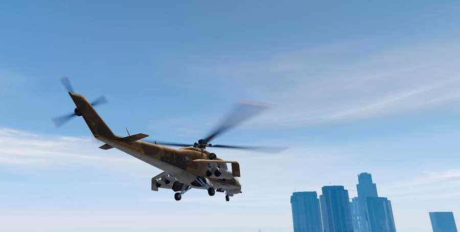 Cómo volar un helicóptero en el GTA 5