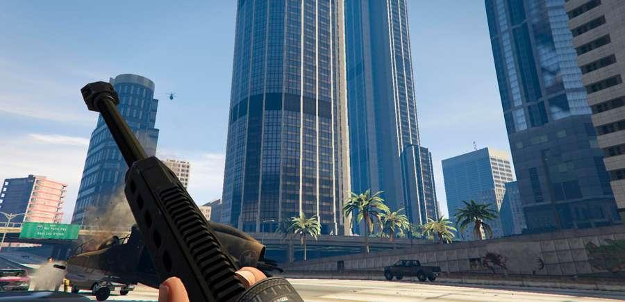 Cómo cambiar el punto de mira en GTA 5