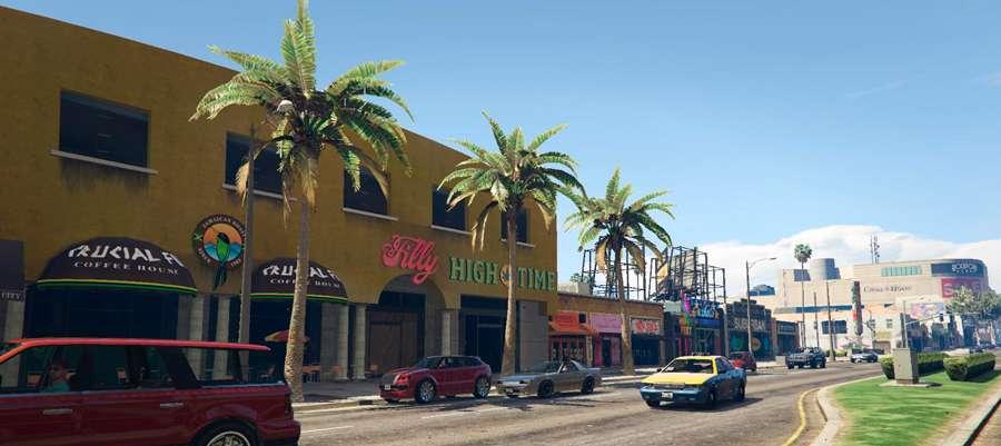 Tiendas en el GTA 5