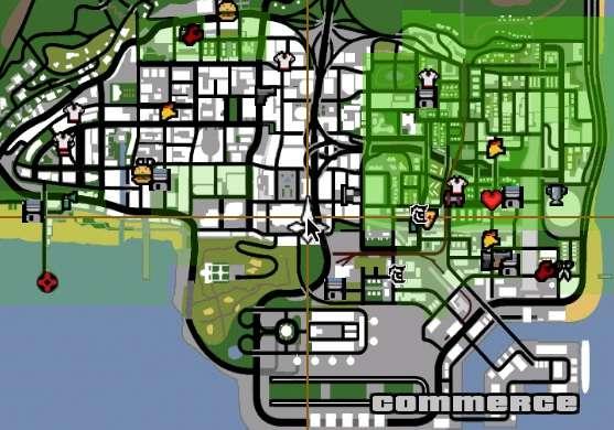 ¿Dónde puede encontrar un helicóptero de la policía en GTA San Andreas