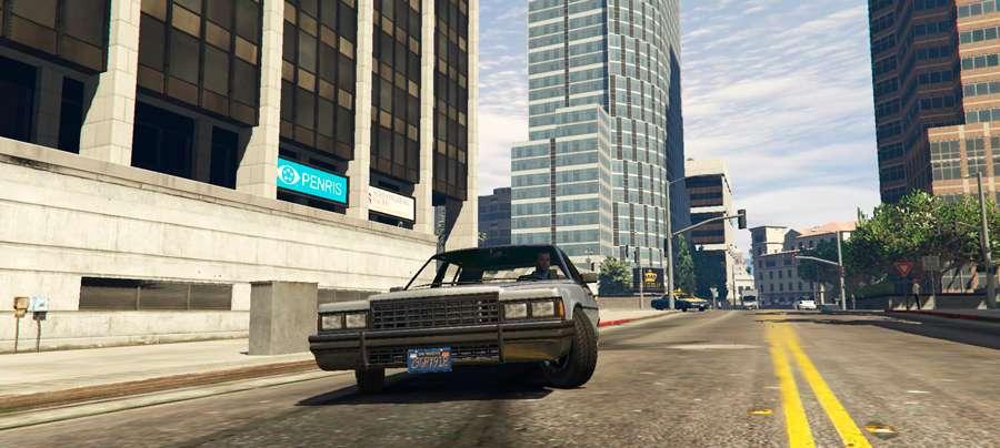 Así se cambia el coche en GTA 5