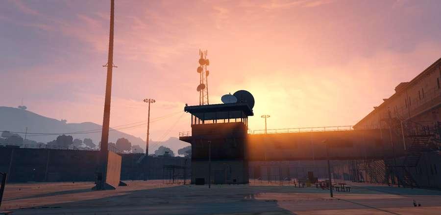 Se parece a una prisión de BOLINGBROOK en GTA 5