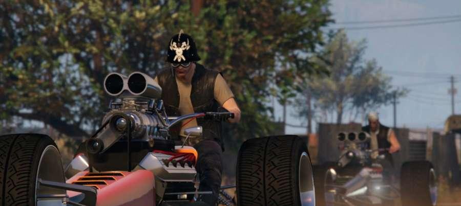 Oeste Rastrea el cohete en GTA 5 Online