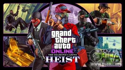 Le Diamond casino hold-up dans GTA 5