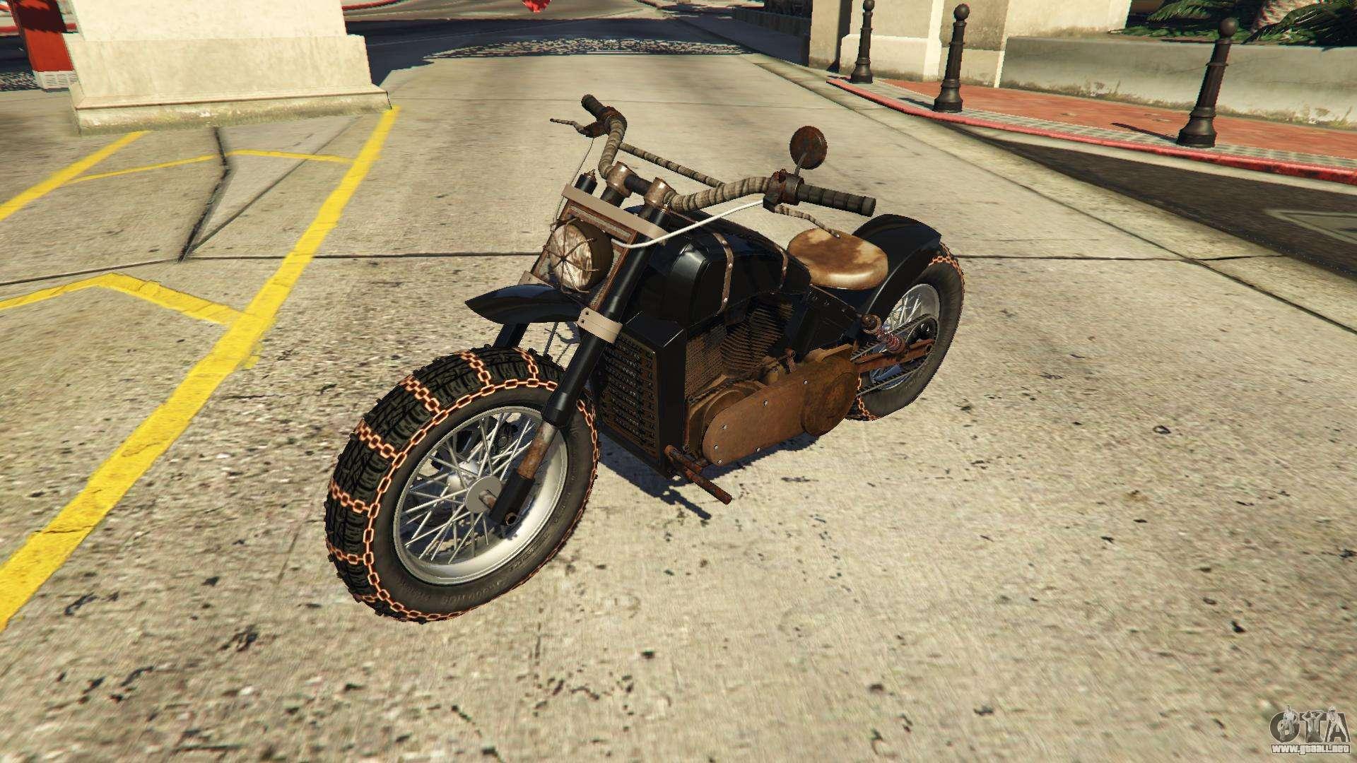 Western Apocalypse Deathbike GTA 5