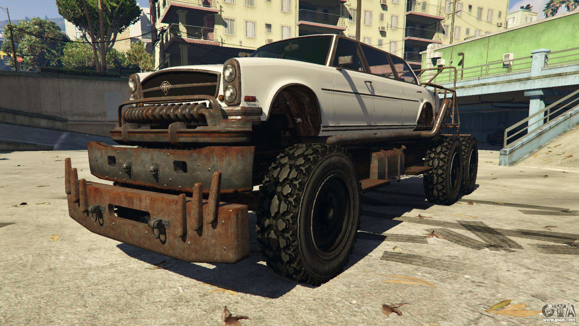 Benefactor Apocalypse Bruiser GTA 5