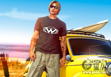 Un pequeño t-shirt en GTA 5