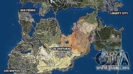 Mapa de la ciudad de GTA 6