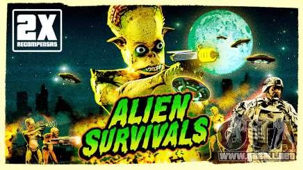 Doble de recompensas en partidas de supervivencia con alienígenas y batallas comerciales