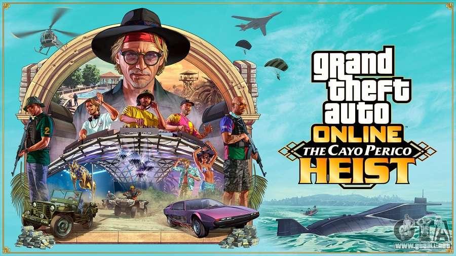 El ataque a Cayo Perico llega el 15 de diciembre en GTA Online