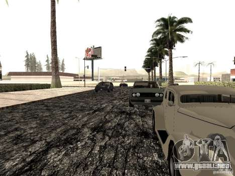 New roads in Las Venturas para GTA San Andreas sexta pantalla