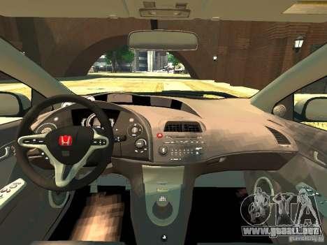 Honda Civic Type R Mugen para GTA 4 visión correcta