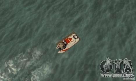 Hydrocycle para la visión correcta GTA San Andreas