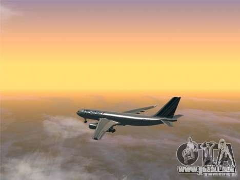 Airbus A330-200 Air France para la visión correcta GTA San Andreas