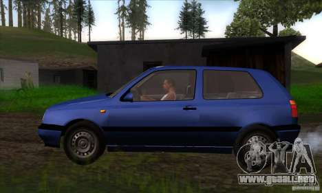 Volkswagen Golf 3 para GTA San Andreas left