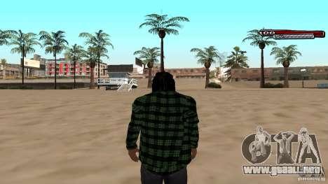 New skin Grove HD para GTA San Andreas segunda pantalla