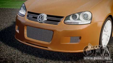 Volkswagen Golf R32 v2.0 para GTA 4 vista superior