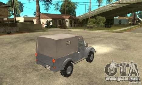 ARO M461 para la visión correcta GTA San Andreas