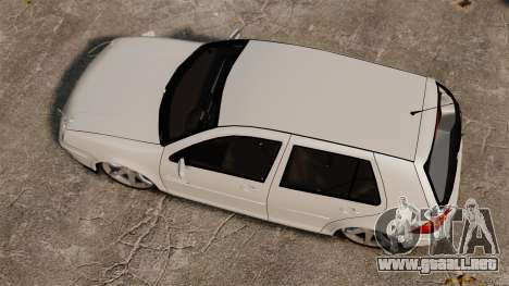 Volkswagen Golf Flash Edit para GTA 4 visión correcta