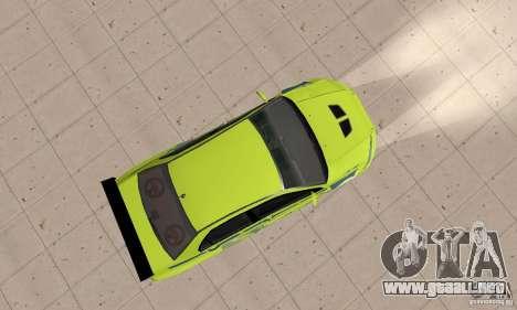 Mitsubishi Lancer Evo The Fast and the Furious 2 para la visión correcta GTA San Andreas