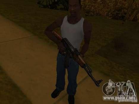 AK 47 para GTA San Andreas tercera pantalla