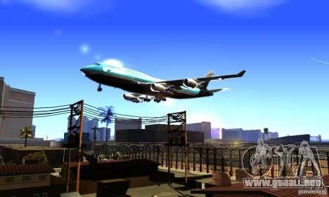 Boeing 747 KLM para GTA San Andreas