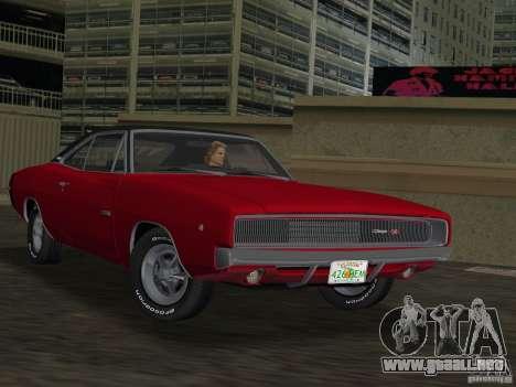 Dodge Charger 426 R/T 1968 v1.0 para GTA Vice City