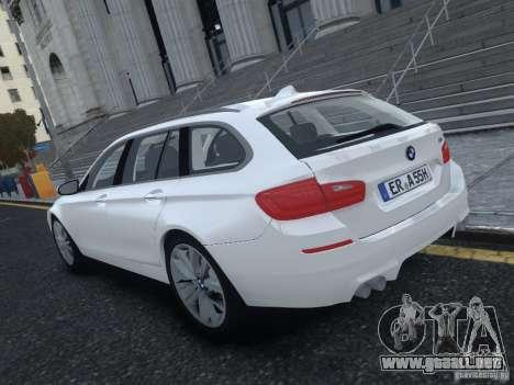 BMW M5 F11 Touring V.2.0 para GTA 4 Vista posterior izquierda