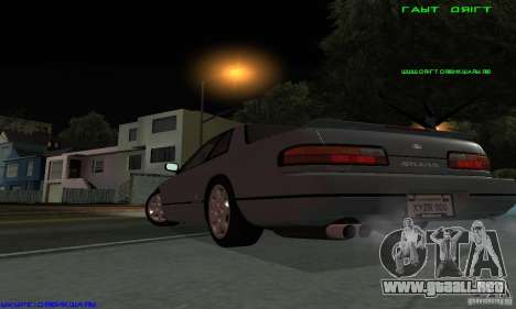 Nissan Silvia S13 Tunable para GTA San Andreas left