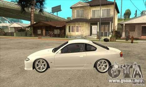 Nissan Silvia S15 Japan Drift para GTA San Andreas left