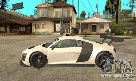 Audi R8 LMS v1 para GTA San Andreas left