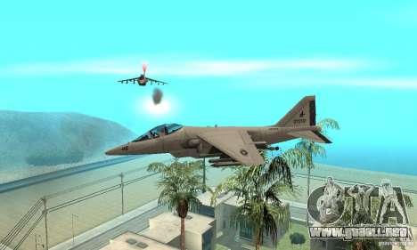 Guerra del aire para GTA San Andreas sucesivamente de pantalla