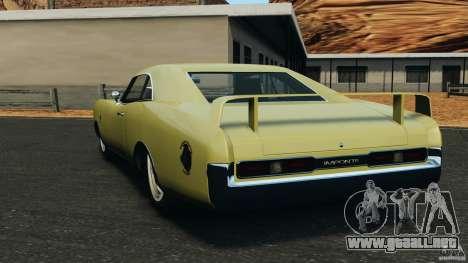 New Dukes para GTA 4 Vista posterior izquierda