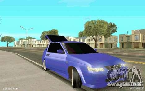 Lada 2112 Coupe para GTA San Andreas vista posterior izquierda